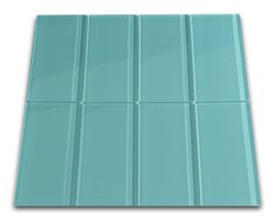 Aqua Glass Subway Tile 3