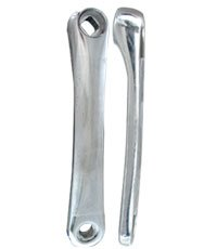 Action Diamond 175 Silver Alloy Crank Arm Left (Side Crank Arm)