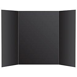 Office Depot Premium Foam Display Board, 36in. x 48in., Black, 26979
