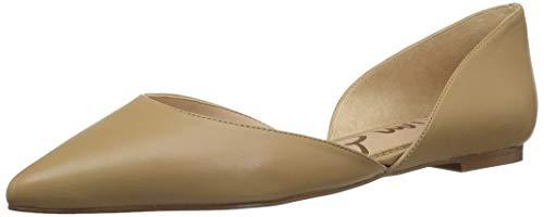 Sam Edelman Women's Rodney Ballet Flat, Classic Nude Leather, 7.5 M US