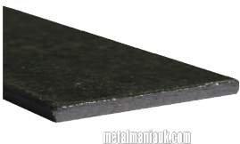 Black flat steel strip 50mm x 3mm x 500mm