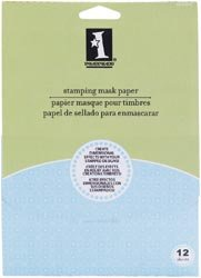 Inkadinkado Bulk Buy Stamping Mask Paper 12 Pack (2-Pack)