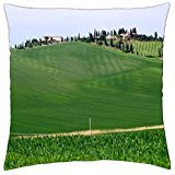 (Tuscany Landscape - Throw Pillow Cover Case (18)