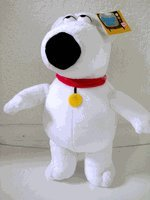 Family Guy Plush Doll - Brian 12 by amdlcollections