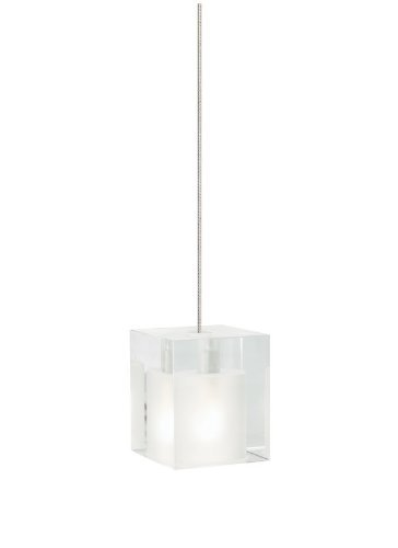MO-Cube Pend frost, sn by Tech - Tech Cube Lighting