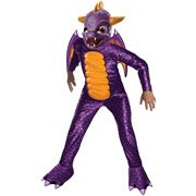 Skylanders Spyro the Dragon Children's Halloween Costume, Size Medium (8)