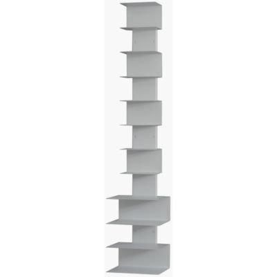 Paternoster Bücherstapelregal MX - 25 x 20 cm, h 122 cm - silber