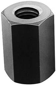 Material May Have Surface Scratches Steel 1-1//4-12 UNF Standard Coupling Nut Zinc Plated 3 Long