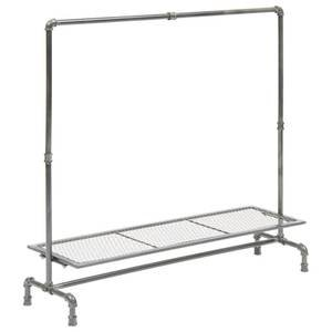 French Industrial Pipe Rack, Small by Retail Resource