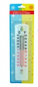 (casalink Indoor & Outdoor Thermometer Fahrenheit and Celsius readings wall mount (1))