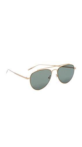 tomas-maier-womens-ultra-flat-aviator-sunglasses-gold-green-one-size