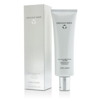 Estee Lauder Crescent White Full Cycle Brightening Cleanser for Women, 4.2 Ounce