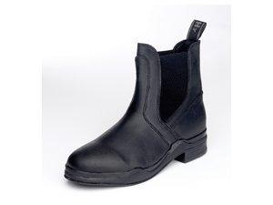 HyFOOTWEAR Wax Leather Jodhpur Boot - adults - brown -6 (HyFootwear Lederwachs-Reitstiefelette, Braun, 39)