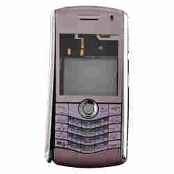 Housing (Complete) for BlackBerry 8110 Pearl (Pink) -