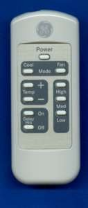 GE Parts USA GE YAE1K2 Remote Control Part # WJ26X21700 - WP26X20001