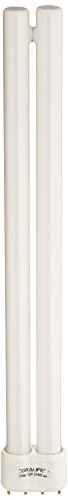 - Coralife 54332 Actinic Straight Pin Compact Fluorescent Lamp, 24-Watt