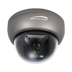 Speco Color Wall - SPECO HINT13D7G INT3 Color Mini Tamperproof Dome w/ Chameleon Cover 3.6mm Lens, Wall/Ceiling Mount, Dual Voltage