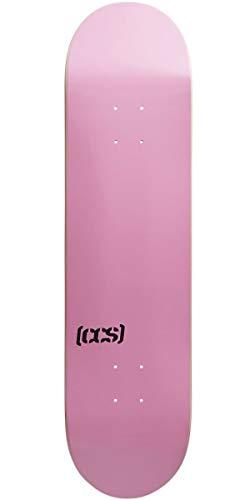 "CCS Logo Blank Skateboard Deck Pink 8.25"""