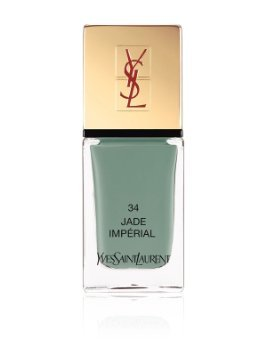 Yves Saint Laurent Spring 2013 Collection La Laque Couture Nail Lacquer Jade Imperial #34