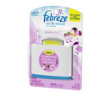 Febreze Set and Refresh Air Freshener Starter Kit Spring and (Renewal Starter Kit)
