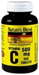 Nature's Blend Vitamin C 500 mg 250 Tablets Review