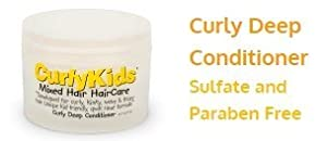 CurlyKids Curly Deep Hair Conditioner, 8 Ounce by CurlyKids