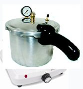 Dental Pressure Curing Pot with Heater 8 Quart by JSP