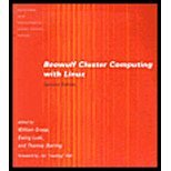 Beowulf Cluster Computing With Linux (2Nd, 03) By Gropp, William - Lusk, Ewing L - Kowalik, Janusz S [Paperback (2003)]