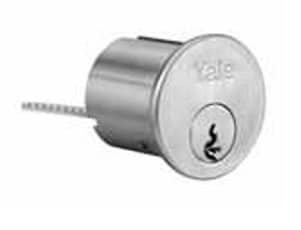 Yale Rim - Yale 1109-Para-626 Standard Rim Cylinder for Exit Devices and Trim with 2 Key Blanks
