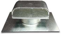Metal Roof Vent with Round Connect (6 Inch) (JV 626 ) ()