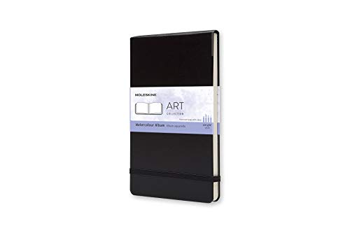 Moleskine Art Plus Hard Cover Watercolor Album, Plain, Large...