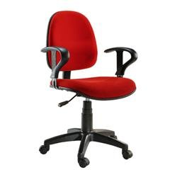 Sedia per ufficio easy colore rosso materiale ufficio for Materiale per ufficio
