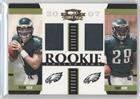 Kevin Kolb; Tony Hunt; Kimo von Oelhoffen #460/500 Kimo von Oelhoffen (Football Card) 2007 Donruss Threads - Rookie Collection Combo Materials (Kimo Collection)