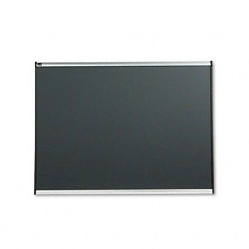 Tight Weave Fabric Board - Quartet B444A Tight Weave Fabric Board, 4'x3', Aluminum Frame