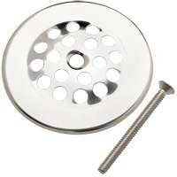 Strainer Dome Cover, 3' Polished Chrome