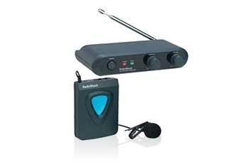 RadioShack Wireless Lapel Microphone System 32-1257