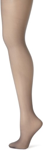 - Hanes Women's Control Top Sheer Toe Silk Reflections Panty Hose, Silver Smoke, C/D