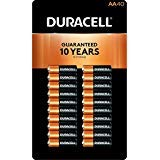 Duracell MN1500 Duralock Copper Top Alkaline AA Batteries - 40 Pack - Aa Duracell