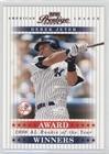 Derek Jeter #1864/1,996 (Baseball Card) 2003 Playoff Prestige - Award Winners #AW-15
