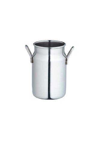 Masterclass Stainless Steel Mini Milk Churn/cream Jug, 140ml (5 Fl Oz)