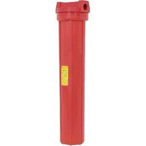 Pentek 150111 3/4'' #20 High Temperature Red Filter Housing by Pentek