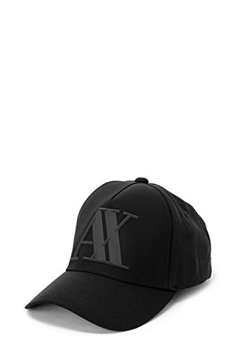 4f1a1e84413d85 Armani Exchange Men's 3d Rubber Ax Tonal Logo Baseball Hat ...