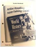 Glencoe World History Active Reading Note-Taking Guide: Modern Times: California Edition