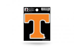Rico Industries NCAA Tennessee Volunteers Die Cut Team Logo Short Sport Sticker
