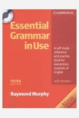 Essential Grammar in Use with Answers and CD-ROM Paperback