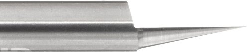 variant image of LMT Onsrud 37-29 Solid Carbide Engraving Tool, Uncoated (Bright) Finish, 1 Flute, 0.040