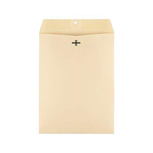(Staples 121962 Extra-Heavyweight Clasp Catalog Envelopes 9