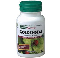 Goldenseal Extract 250mg Nature's Plus 60 Caps