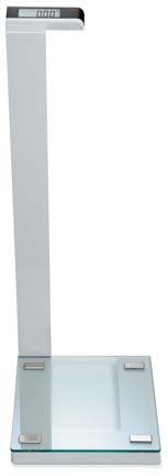 Seca 719 Supra Waist High Digital Scale with Glass Platform by Seca