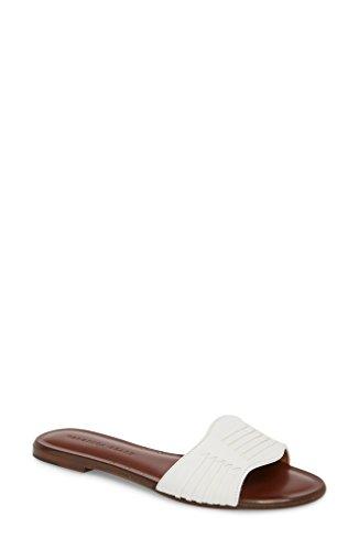 ヴェロニカ ベアード レディース サンダル Veronica Beard Faven Woven Slide Sandal [並行輸入品]
